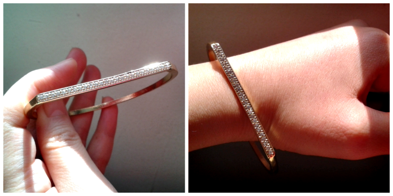 Lovisa crystal bangle