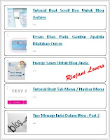 tutorial blog, blogger tutoral, blogspot, blog, Membuat Recent Post Animasi, Recent post animated, widget recent post, free widget, recent post blog