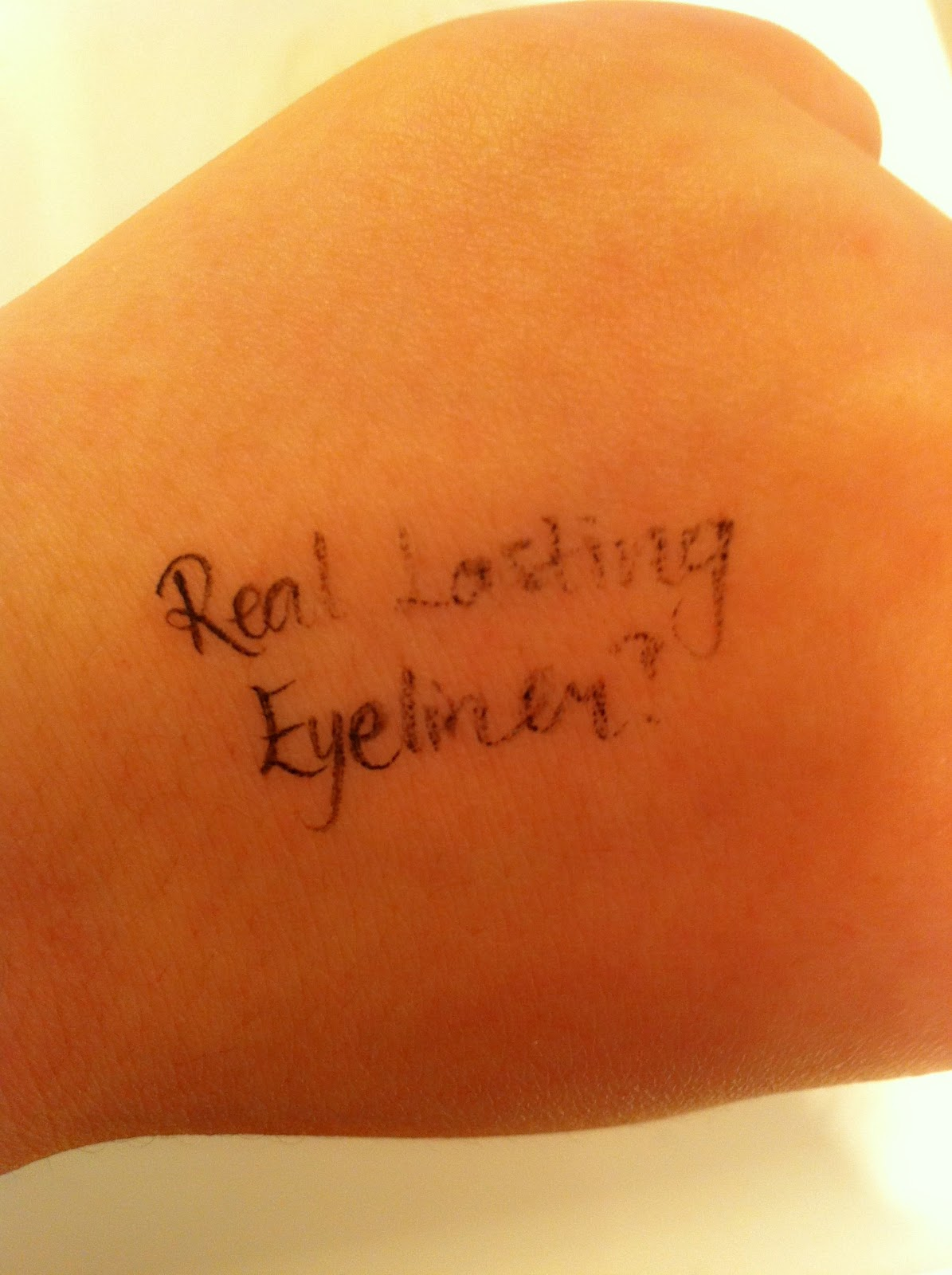 Tattooed Eyeliner