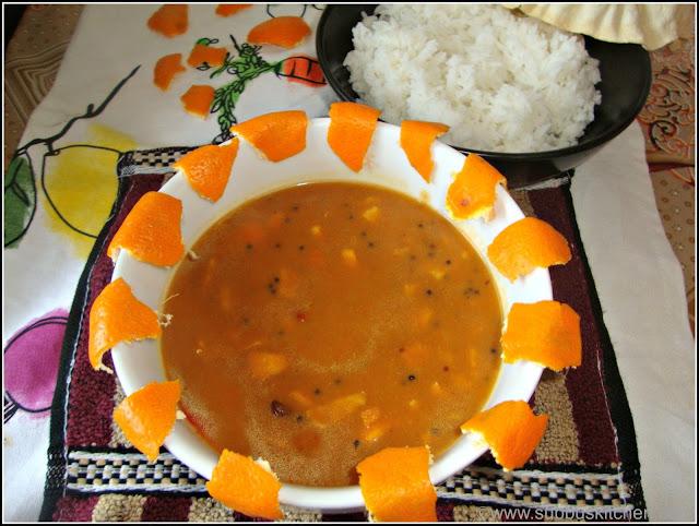 Orange skin kuzhambu