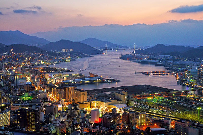 Visão Noturna de Nagasaki