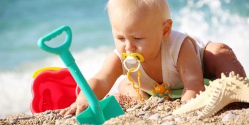 O sapo e a princesa ver o cuidados com o beb na praia for Banadores para bebes piscina