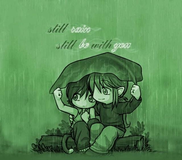 Ảnh cơn mưa lãng mạn