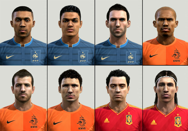 PES 2012 Euro 2012 Facepack by Starkiller
