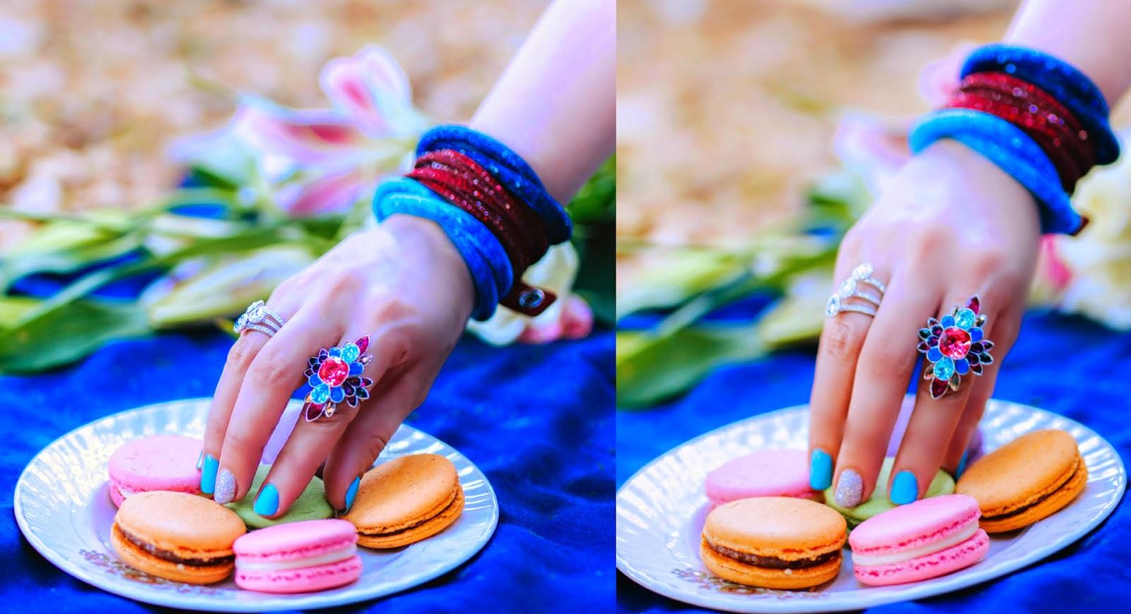 Swarovski Stardust Bracelets, Slake Bracelet, Cardinal Floral Ring, Patel Christie Ring Set