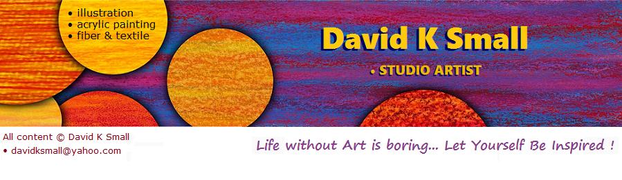 David K Small, artist