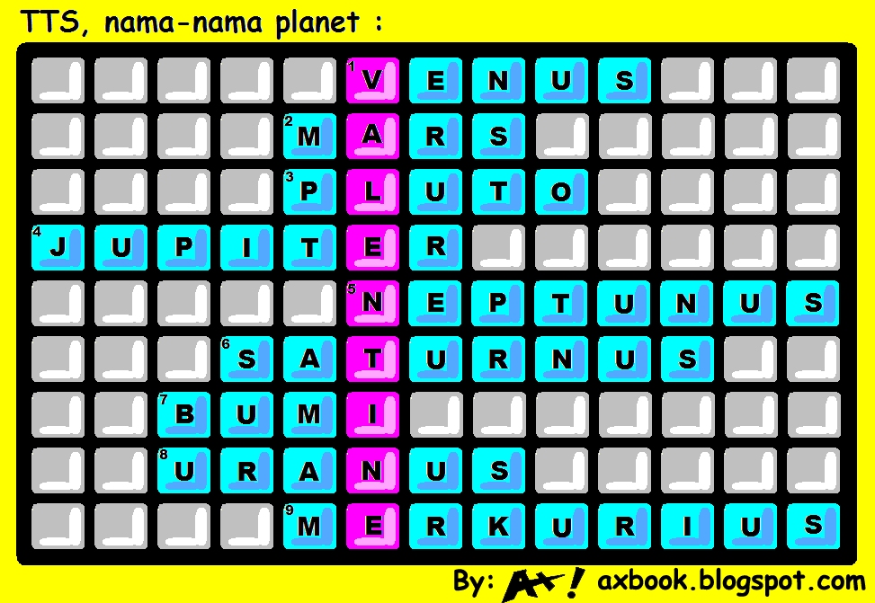 planets & valentine's puzzle