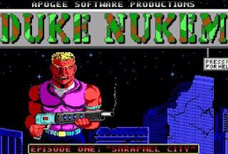 Duke Nukem 1 Logo
