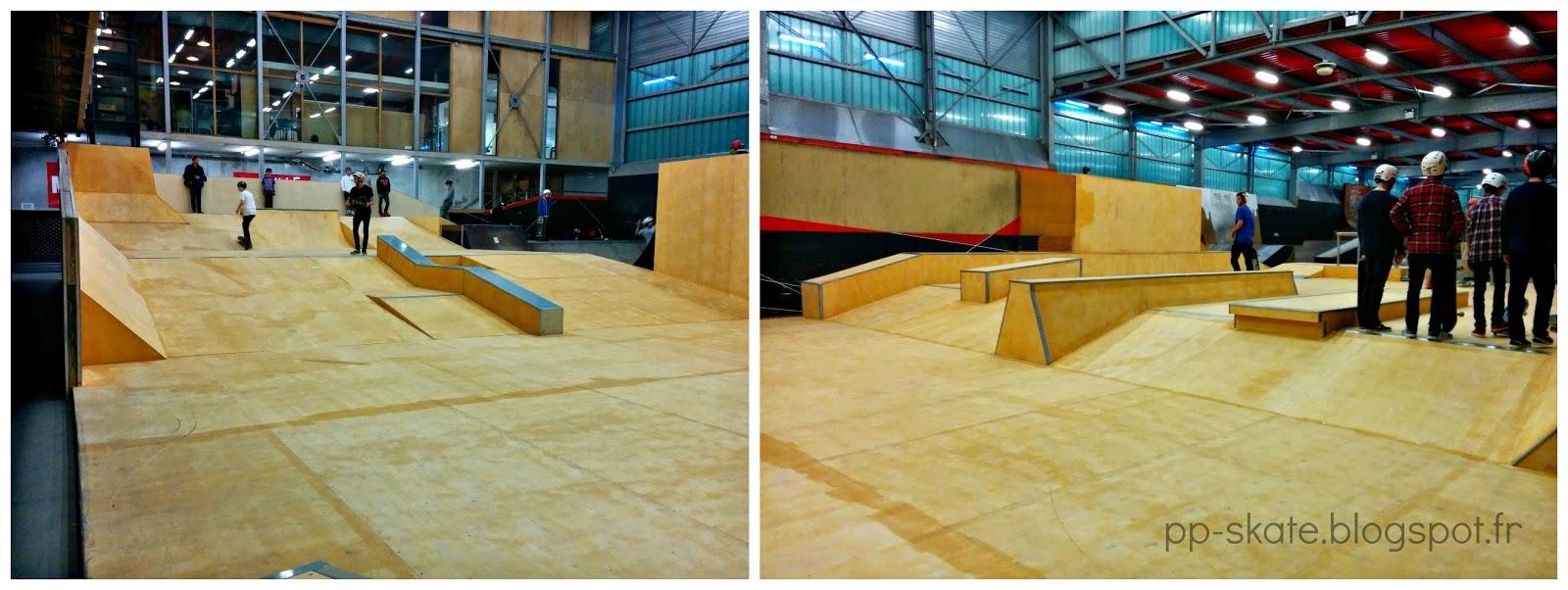 Skate park Lille nouveaux modules