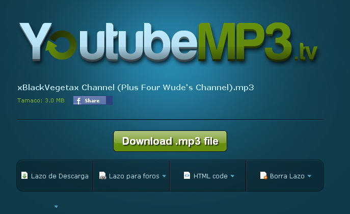 descargar gratis convertidor de videos de youtube a mp3