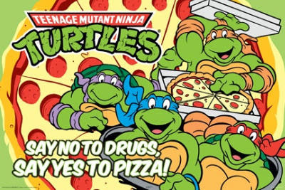 Tortugas Ninja Decada de los Noventa