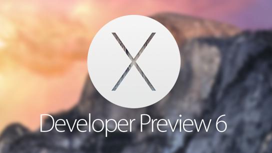 Download OS X Yosemite 10.10 Developer Preview 6 (14A329f) .DMG File via Direct Links