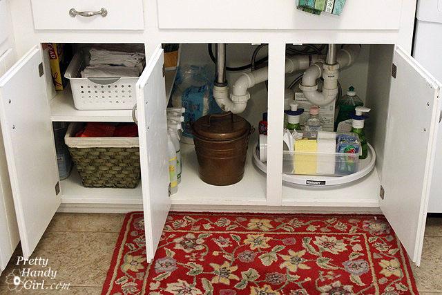 11 Ways To Organize Under A Sink Organizing Made Fun 11