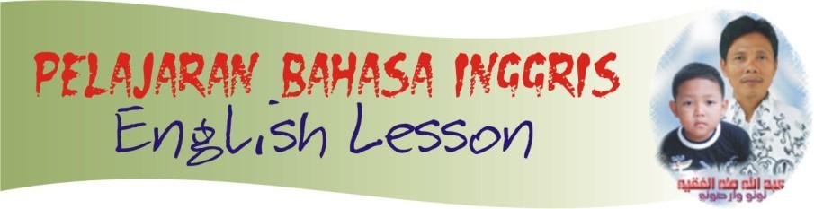 Pelajaran Bahasa Inggris (English Lesson)