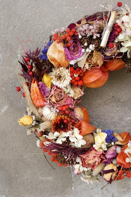 jesień, dekoracje
