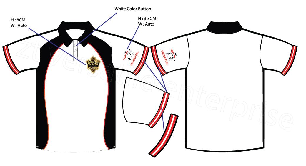 Custom Made Polo Shirt Prudential
