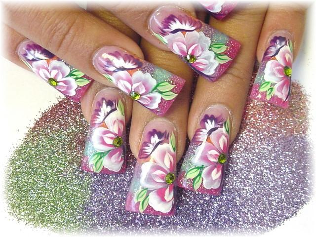 Best Of Nail Art Best Quality Flower Designs Nail Art