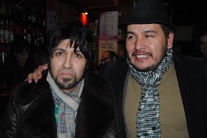 Julio Medina Gimenes y Leo Zelada