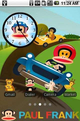 Monkey Android Theme Apk
