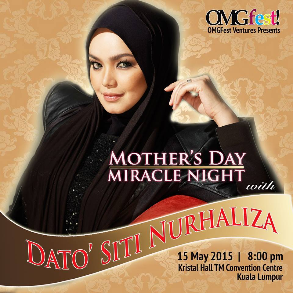 Mother s Day Miracle Night With Dato Siti Nurhaliza