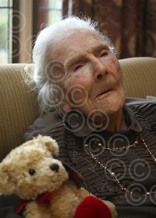 Grace Jones Supercentenarian Ellaline Redmond  110
