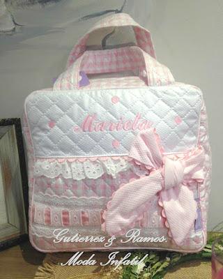 bolsa de merienda rosa