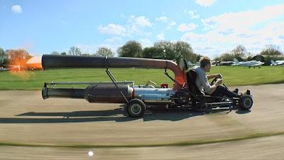 Τρελός εφευρέτης έβαλε μηχανή Jet σε Go-Kart