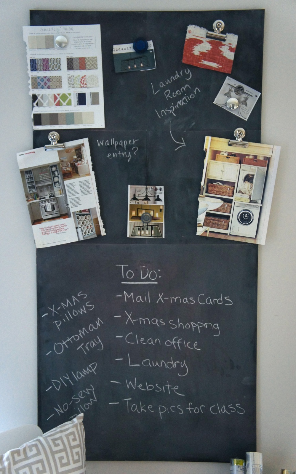 Home With Baxter Magnetic Chalkboard
