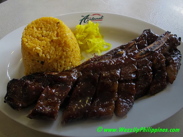 Photo of Pork Spareribs Barbeque at the Aristocrat Restaurant