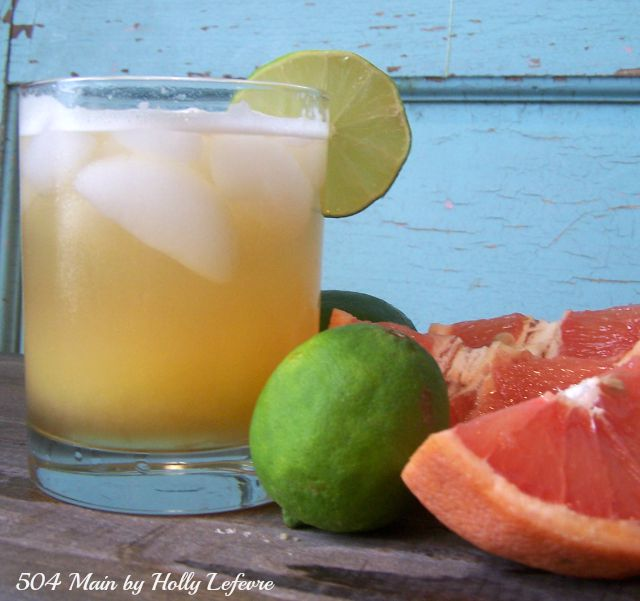 A subtle mixture of alcohol and citrus make this drink fresh.
