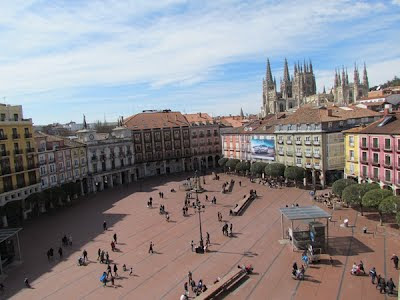 Burgos plaza mayor