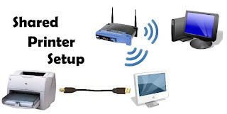 setup network printer
