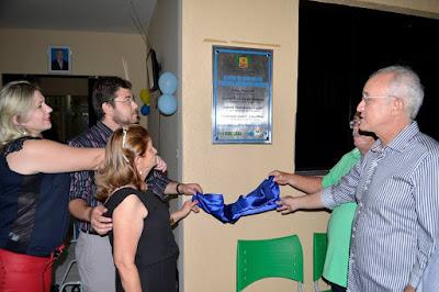 Reriutaba: Prefeitura inaugura centro de Fisioterapia Vanessa Mesquita Mendes.