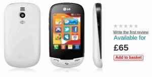 LG Ego Wi-Fi Phone
