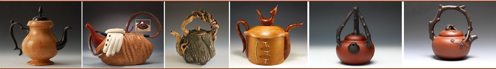 Handcrafted Art Work TEAPOTS