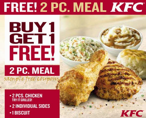 kentucky fried chicken coupons handy