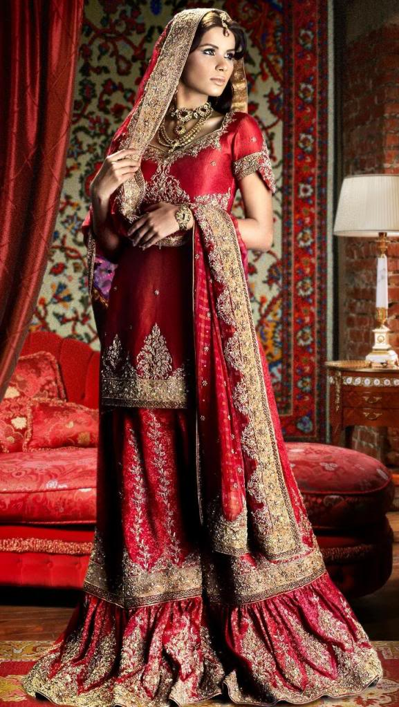 Bridal lengha 2009 wedding photos for Most expensive wedding dress in india