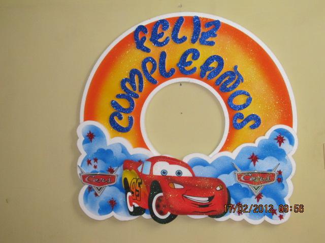 FIGURAS CARS CON ICOPOR | Fiestas infantiles Medellin, decoracion ...