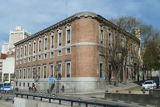 """Palacio del Marqués de Grimaldi (Madrid) 01"" by Luis García. Licensed under CC BY-SA 3.0 via Wikimedia Commons - https://commons.wikimedia.org/wiki/File:Palacio_del_Marqu%C3%A9s_de_Grimaldi_(Madrid)_01.jpg#/media/File:Palacio_del_Marqu%C3%A9s_de_Grimaldi_(Madrid)_01.jpg"