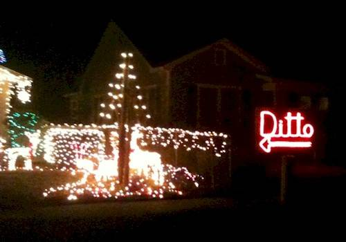 Web of Funny: Ditto for Christmas Lights