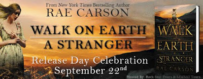 Walk on Earth a Stranger Release Day Blitz banner