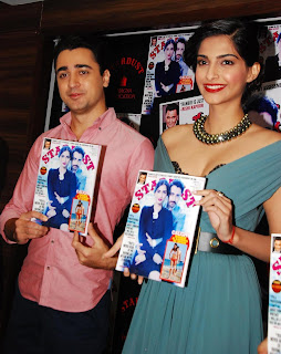 Sonam Kapoor and Imran Khan Launches Stardust Magazine (5).JPG