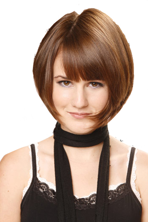 Funky Hairstyles: Hairstyle Bob with Bangs