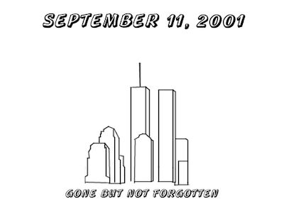 september 11  2001 coloring