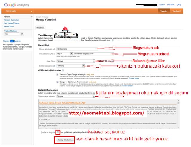 Google Analytics Kodu Blogger-WordPress nasıl eklenir