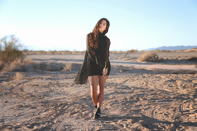 unif, unif dress, cape dress, little black dress, lbd, jeffrey campbell, jeffrey campbell coltrane