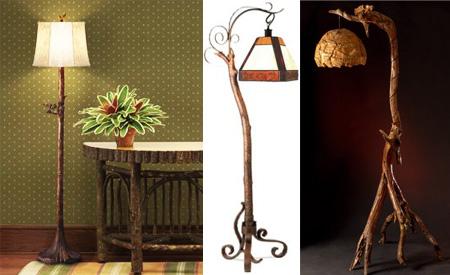 Disenyoss decoracion lamparas de pie - Lamparas de pie artesanales ...