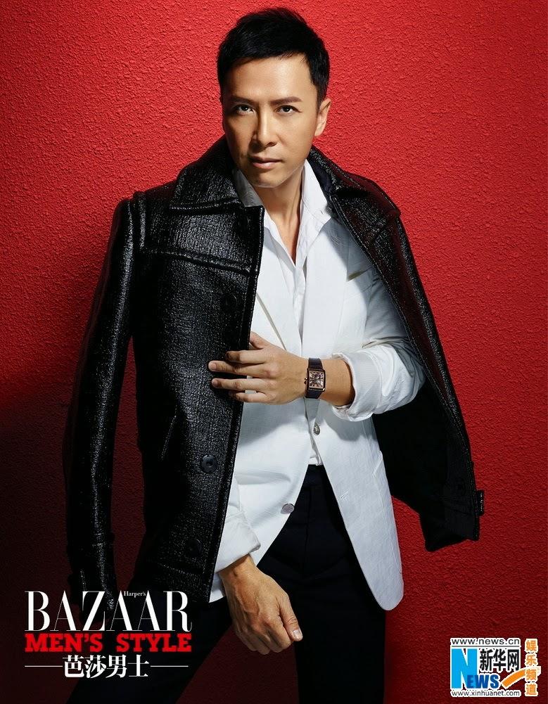 Hong Kong actor Donnie Yen covers 'Bazaar Men's Style ...