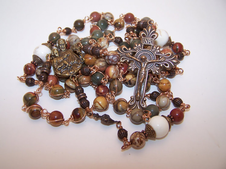 No. 28.  Rosary Of St. Joseph- Custom Order- SOLD