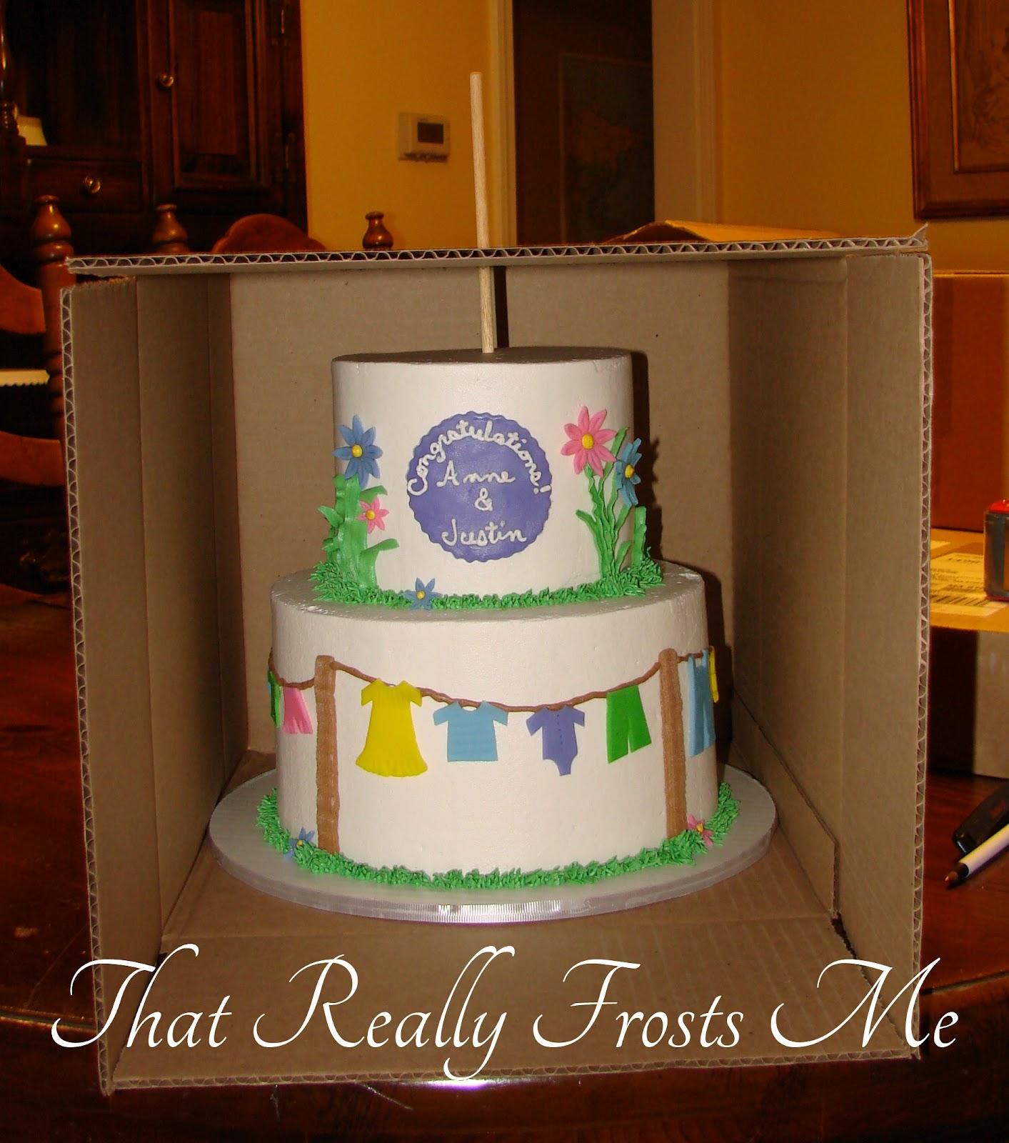 Tiered Cake Transport Box
